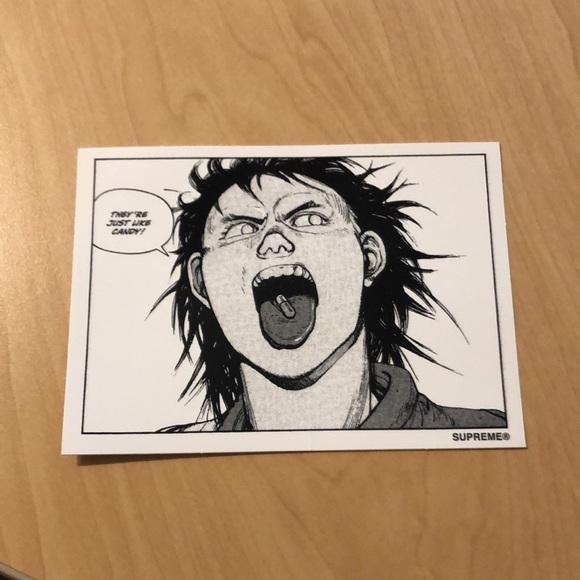 AKIRA Supreme Sticker